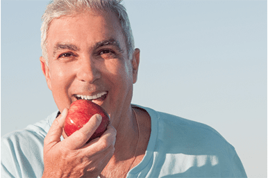 dentures, implants, teeth